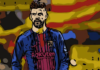 Gerard Pique Barcelona Spain Tactical Analysis