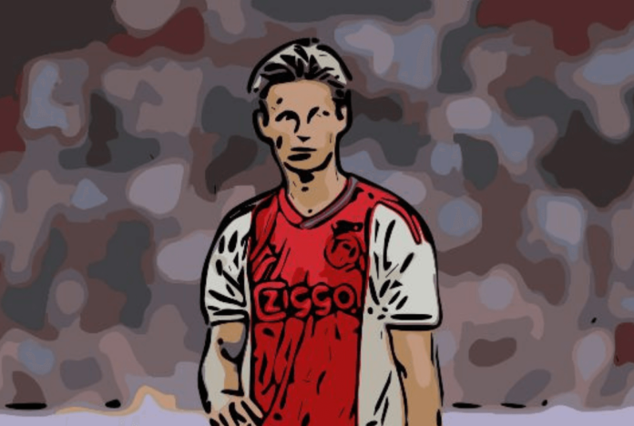 Frenkie de Jong Barcelona Ajax Tactical Analysis
