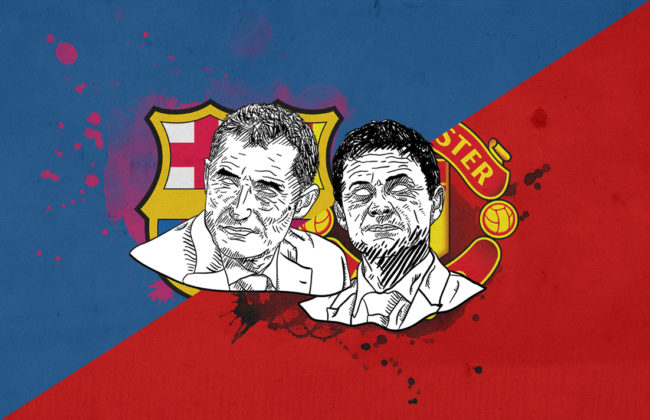 Champions League 2018/19 Barcelona Manchester United tactical analysis preview